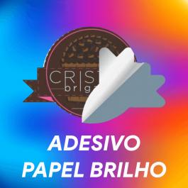 Etiquetas e Rótulos Papel Adesivo Brilho  Colorido  Corte Especial Conforme arquivo