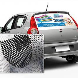 Adesivo Vidro Traseiro de Carros Adesivo Micro Perfurado  Colorido  *Consulte aplicação